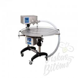 Daugiafunkcinis prietaisas dozavimui, kremavimui ir medaus pumpavimui su besisukančiu staliuku