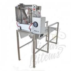 Automatinės atakiavimo staklės 2m 230V su vandeniu šildomais peiliais