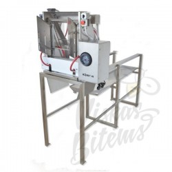 Automatinės atakiavimo staklės 1,5m 230V su vandeniu šildomais peiliais