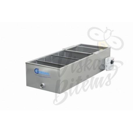 Medaus filtras su 5 šildomais rezervuarais