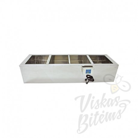 Horizontali šildoma talpykla su filtru 1000mm
