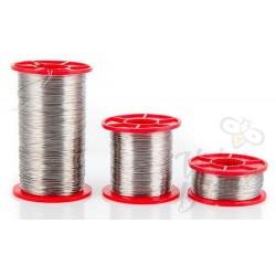 Viela 500 g, 0.4 mm, nerūdijančio plieno