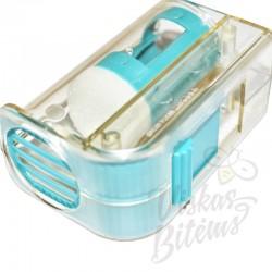 Stūmoklinis motinėlių žymėjimo aparatas