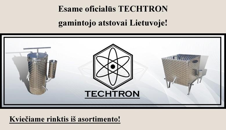 Esame TECHTRON atstovai Lietuvoje!